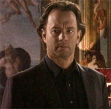 Robert Langdon, played by Tom Hanks in the movie.